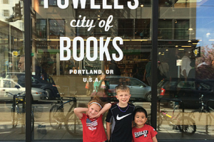 Family Field Trip to Powell's