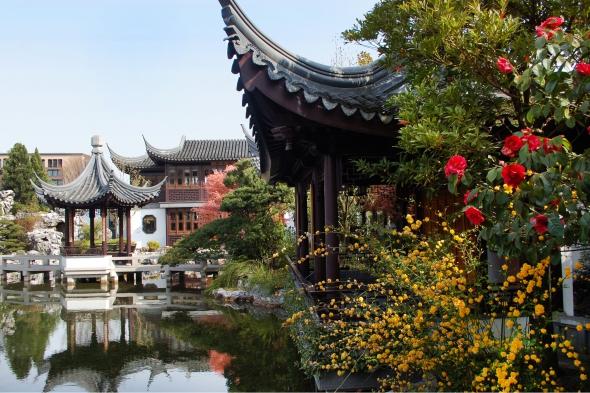 Photo Credit : Lan Su Chinese Gardens