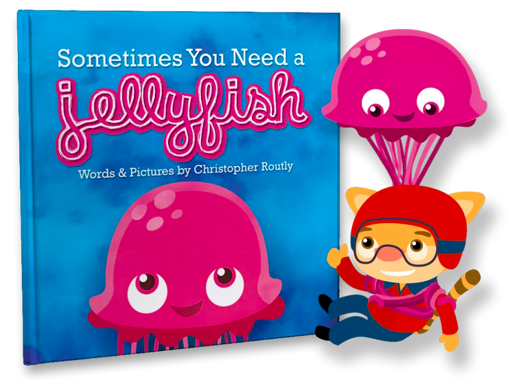 Sometimes You Need a Jellyfish, by Christopher Routly