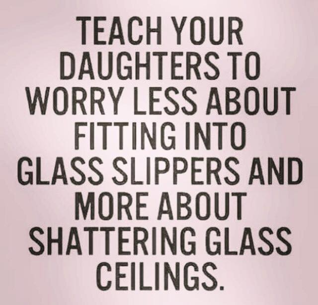Shatter Glass Ceilings