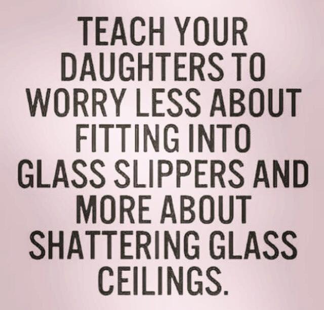 Shatter Glass Ceilings
