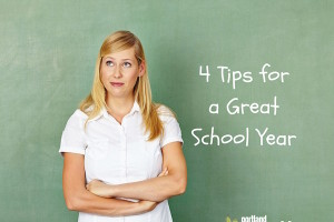 Four tips for a great school year