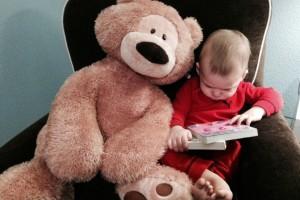 Logan reading