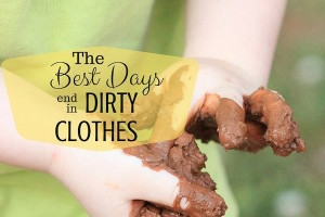 Kids and messiness quote