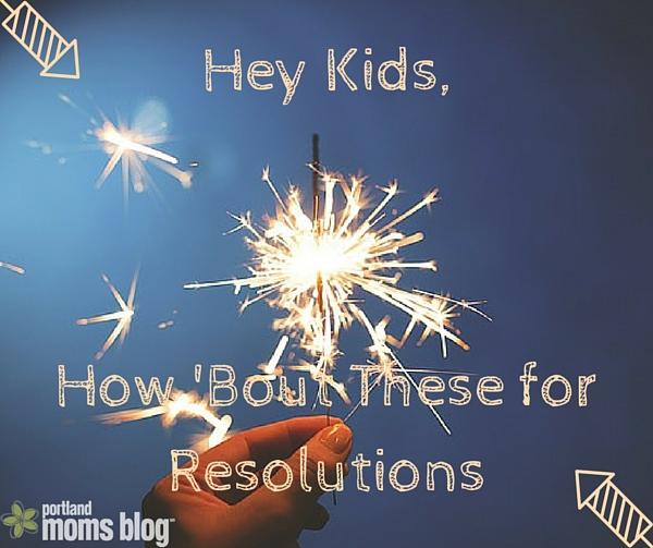 Kids Resolutions