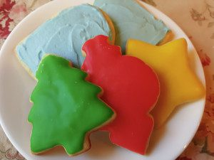 sugar cookies glaze frosting