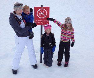 Family-sledding