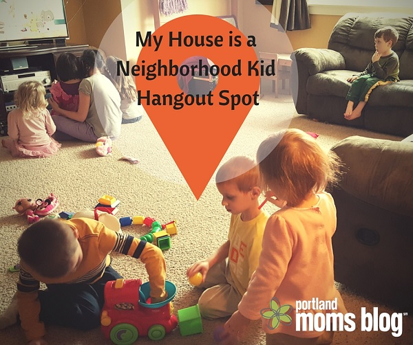My House is a Neighborhood Kid Hangout Spot