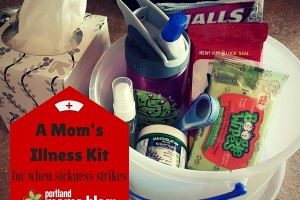 when sickness strikes moms illness kit