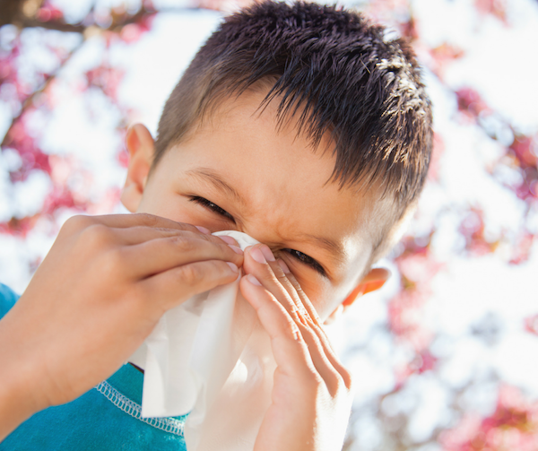 treating allergies naturally, Kids and Allergies, Natural allergy Remedies