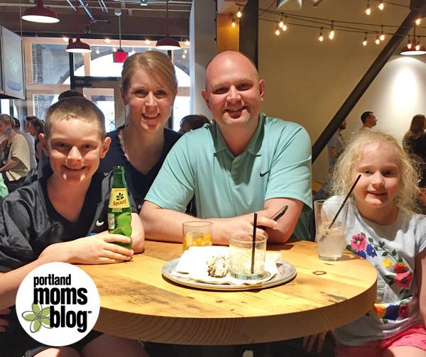Family visit to Pine Street Market