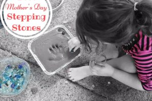 mothers day stepping stones diy