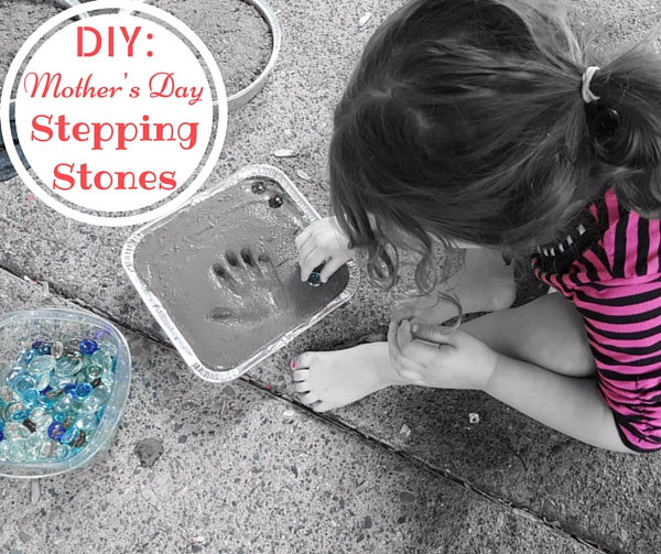 mothers day ideas stepping stones diy
