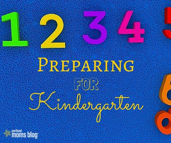 Preparing for full-day Kindergarten
