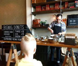 BigWig Donut review, Portland doughnut shops
