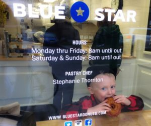 Blue Star donut, Portland doughnut shops