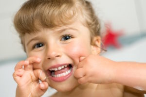 Floss Pediatric Dentist Portland