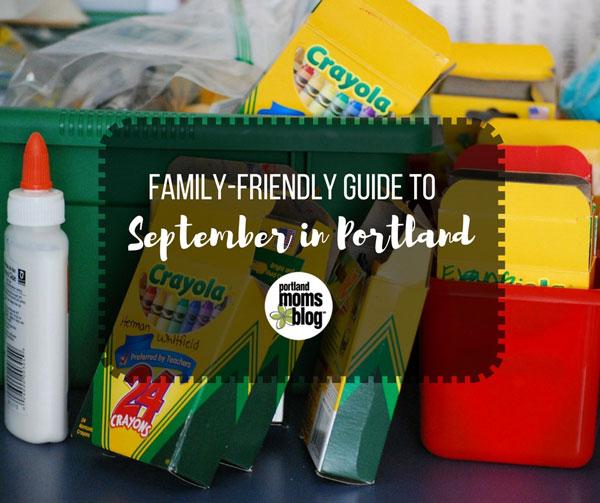 Portland Family Events September