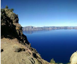 September Crater Lake