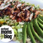 Summer Cilantro Lime Quinoa Salad