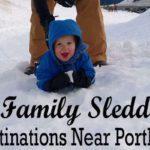 11 Snowy Sledding Destinations Near Portland