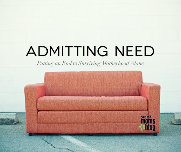 Admitting Need