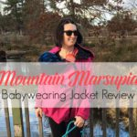 The Only Babywearing Jacket You'll Ever Need {Mountain Marsupial Review + Giveaway}