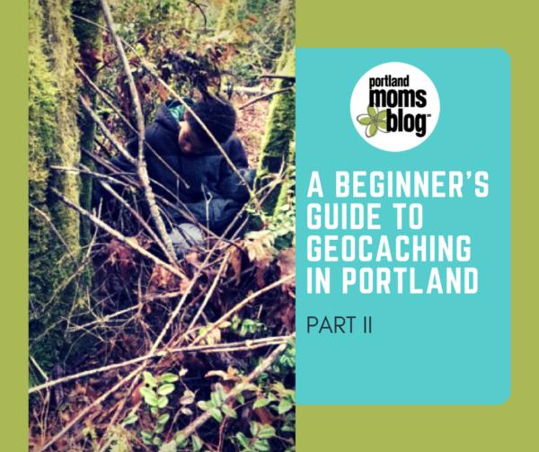 Geocaching in Portland Part II
