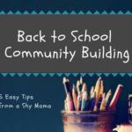 Back To School Community Building