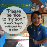 Please Be Nice to My Son: A Mom's Thoughts on the First Day of School