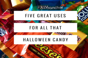 5 uses for halloween candy