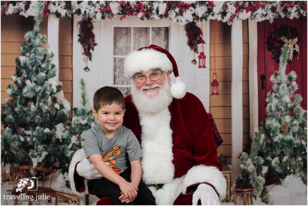 Cookies with Santa - Santa Photo