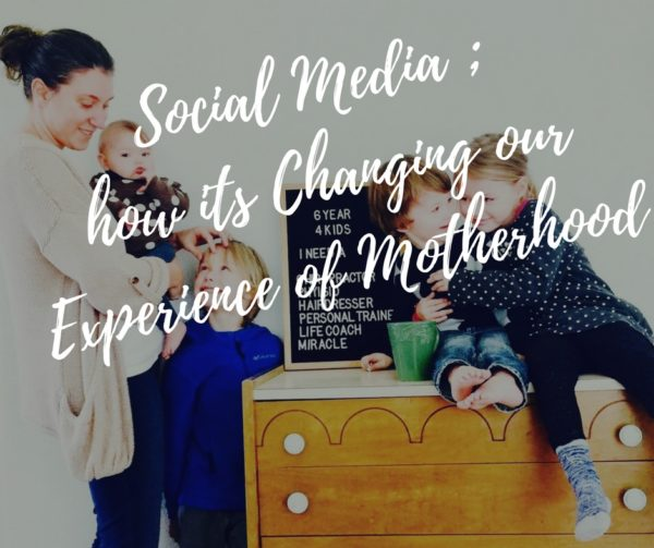 Is Social Media Changing Our Motherhood Experience?