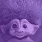 There's a Purple-Haired Troll in My Basement!