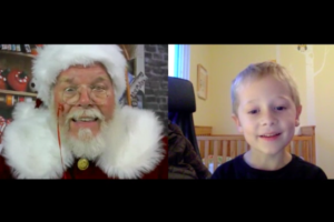 Welcome Santa with Kyle