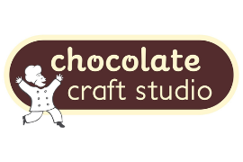 Logo for the Chocolate Craft Studio Birthday Party
