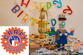 Picture from The Craft Factory Birthday Party with Logo