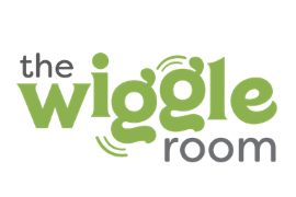 Logo for The Wiggle Room Birthday Party