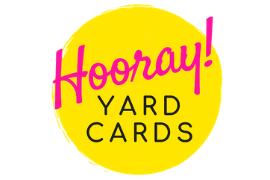 Logo of Hooray Yard Cards Birthday Party