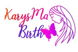 Logo for KarysMa Birth for Portland Mom & Baby Guide