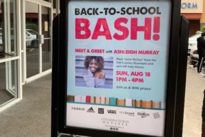 Back to School Bash at Columbia Gorge Outlets