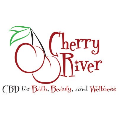 Logo for Cherry River CBD for Bath, Beauty, and Wellness