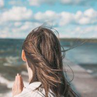 Gratitude Woman Alone