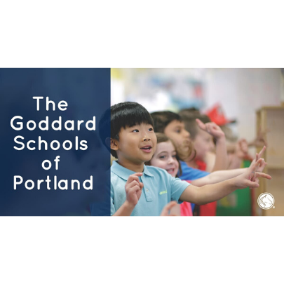 Image of Children playing at camp at The Goddard Schools of Portland