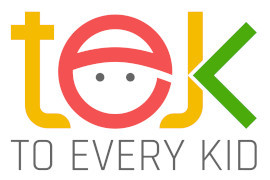 Logo for TEK (To Every Kid) Summer Camps