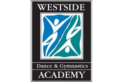 Logo of 2 figures for Westside Dance & Gymnastics Academy Summer Camps