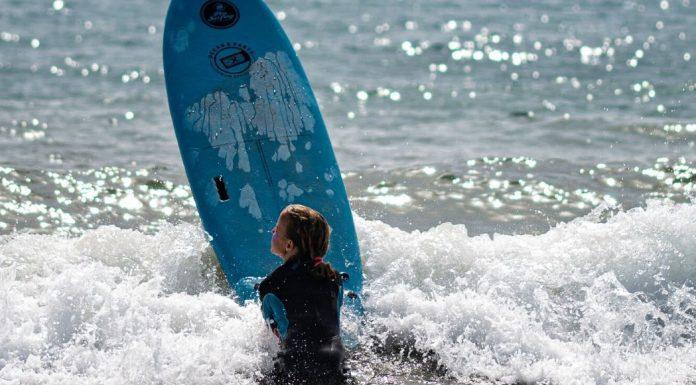 Family surf adventure