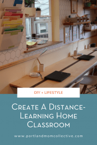 Distance-Learning Home Classroom Pinterest