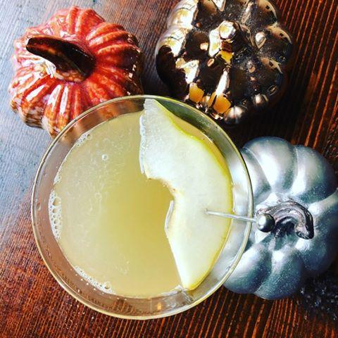 Fall pear Martini