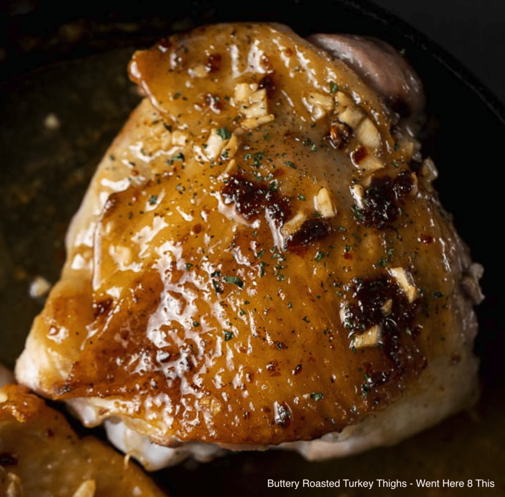 Buttery Roasted Turkey Thighs